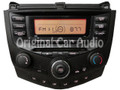 2003 2004 2005 2006 2007 Honda Accord Radio and CD Player 2AX0 03 04 05 06 07