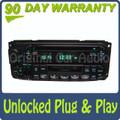 02-05 Chrysler Jeep Dodge Radio  Cassette and CD Player RAZ RBP RBU