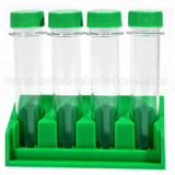 Plastic Test Tubes With Rack