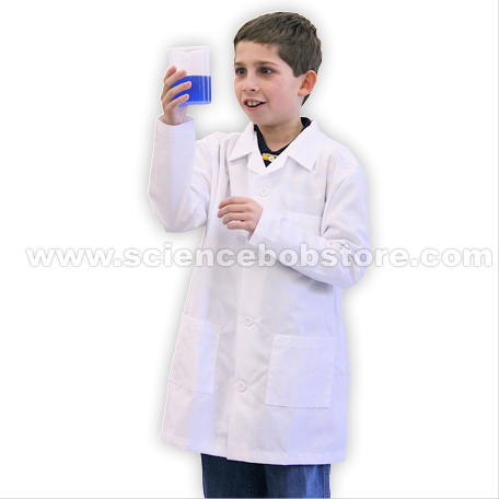 Childrens Lab Coat - 4 Sizes - Science Bob Store