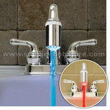 Temperature Sensitive Faucet Light