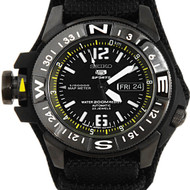 SKZ317J1 Seiko Automatic Map Meter WR200m Day-Date Sports Mens Watch