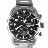 Seiko Chronograph Quartz Military Sports Watch SNN231P1