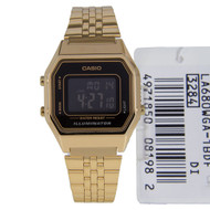 Casio Watch LA680WGA-1BDF