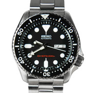 Seiko skx007k2 divers automatic mens watch