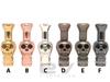 Mini Metal Skull Drip Tip for 510   808D-1   901