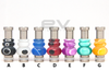 Stainless Steel Acyrlic Hybrid Drip Tip | Type E
