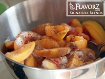 Flavorz Signature Blends E-Liquid - Brown Sugar Peaches & Pears