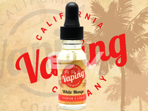 California Vaping Company E-Liquid - White Mango
