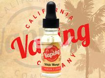 California Vaping Company E-Liquid - White Mango