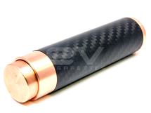 M-Hattan Mechanical MOD Clone by Acerig  - Carbon Fiber / Copper