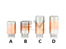 Copper Two-Tone Drip Tips for RBAs / 510 / 808D-1 / 901