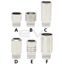 Stainless Steel Drip Tips for RBAs | 510 | 808D-1 | 901 (More Choices)