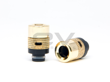 Gold Air Flow Control Wide Bore 510 Drip Tip Mouthpiece