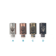 Poseidon Wide Bore Drip Tip Mouthpiece