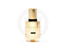 Plume Veil v1.5 RDA Clone by Acerig - Gold (w/Stainless Steel Drip Tip)