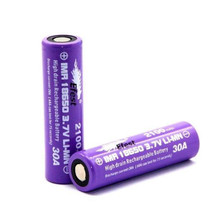 Efest Purple 18650 IMR 2100mAh Flat Top Battery - 30A