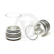 Stainless Steel & Glass Monster Top Cap (fits most 22mm RDAs)