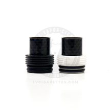 Carbon Fiber Chuff Enuff Heatsink Styled Top Cap (Double O-Ring)