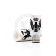 Ceramic & Stainless Steel Eagle 510 Drip Tip Mouthpiece