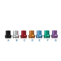 Anodized Aluminum Chuff Enuff Domed Styled Top Cap