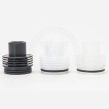 Delrin Mini Chuff Enuff Heatsink Styled Top Cap (Single O-Ring)