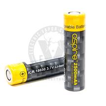 Aspire 18650 ICR 2500mAh Flat Top Battery - 20A / 40A