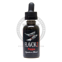 Flavorz Ultra High VG E-Liquid - Poppa