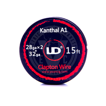 Kanthal A-1 Resistance Wire Coil - Fused Clapton Wire (by UD)