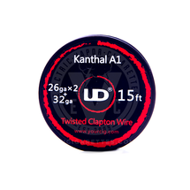 Kanthal A-1 Resistance Wire Coil - Twisted Core Clapton Wire (by UD)