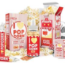 Mad Hatter E-Liquid - I LOVE Popcorn