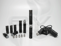 eGo-C 650mAh 2mL Tank Atomizer Starter Kit - Type B - Black