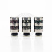 Carbon Fiber Fusion 510 Drip Tip Mouthpiece - Type D