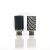Carbon Fiber Wide Bore 510 Drip Tip