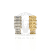 Metal Ripple Wide Bore 510 Drip Tip