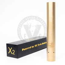 X2 Stacked 18650 Mechanical MOD by Vaperz Cloud