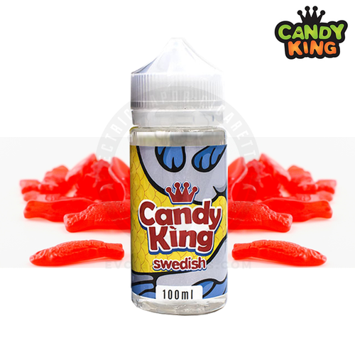 The Candy King's best mixologists really crushed it this time: Swedish by Candy King E-liquids is the sweetest fish you'll ever taste.
