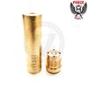 The Back 2 Basic V2 mech mod from Purge Mods has a beefy firing switch with a wide copper contact for excellent performance.