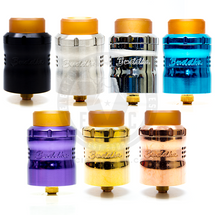 Available in Blue, Purple, Polished Stainless Steel, Naval Brass, Copper, or Stainless Steel in a Matte Black finish, the Mini Buddha v2 is slim, trim, and ready for a summer swim!