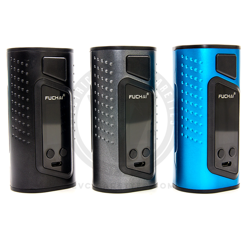 Available in Black, Silver, and Metallic Blue (with many more on the way), Sigelei's Fuchai Duo-3 is a fashion statement all in itself.