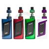 The Smok Alien Kit in Blue/Black, Red/Black, Green/Black, & White/Purple.