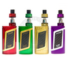 The Smok Alien Kit in Red/Gold, Green/Gold, Gold on Gold, and Purple/White.
