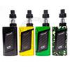 The Smok Alien Kit in Black/Rainbow Splatter, Yellow/Black Spray, Green/Black Spray, and Green Camo.