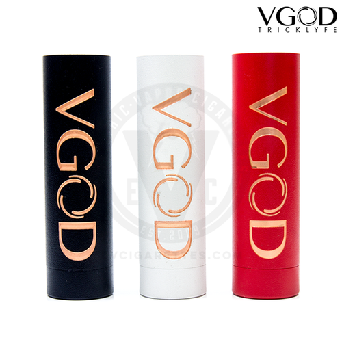 The VGOD Pro Mech MOD is available in Black, White, and Red.