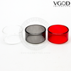 These replacement glass sections for the VGOD Tricktank Pro R2 RDTA are available in Clear, Smoky Grey, and Red.