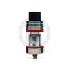 The TFV8 X-Baby Sub-Ohm Tank in a bare Stainless Steel finish.