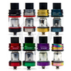 The TFV8 X-Baby is available in Black, Stainless Steel, Gold, Blue, Red, Green, Purple,  and Iridescent Rainbow.