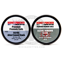 The Kidney Puncher Premade SS316L Aliens & Advanced Alien Coils