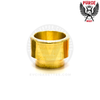 The golden tones of Purge's solid brass 810 drip tip will have you feeling like royalty.