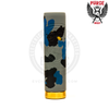 The solid brass switch of the Skull Camo Edition Mech MOD establishes a reliable foundation for excellent performance.
